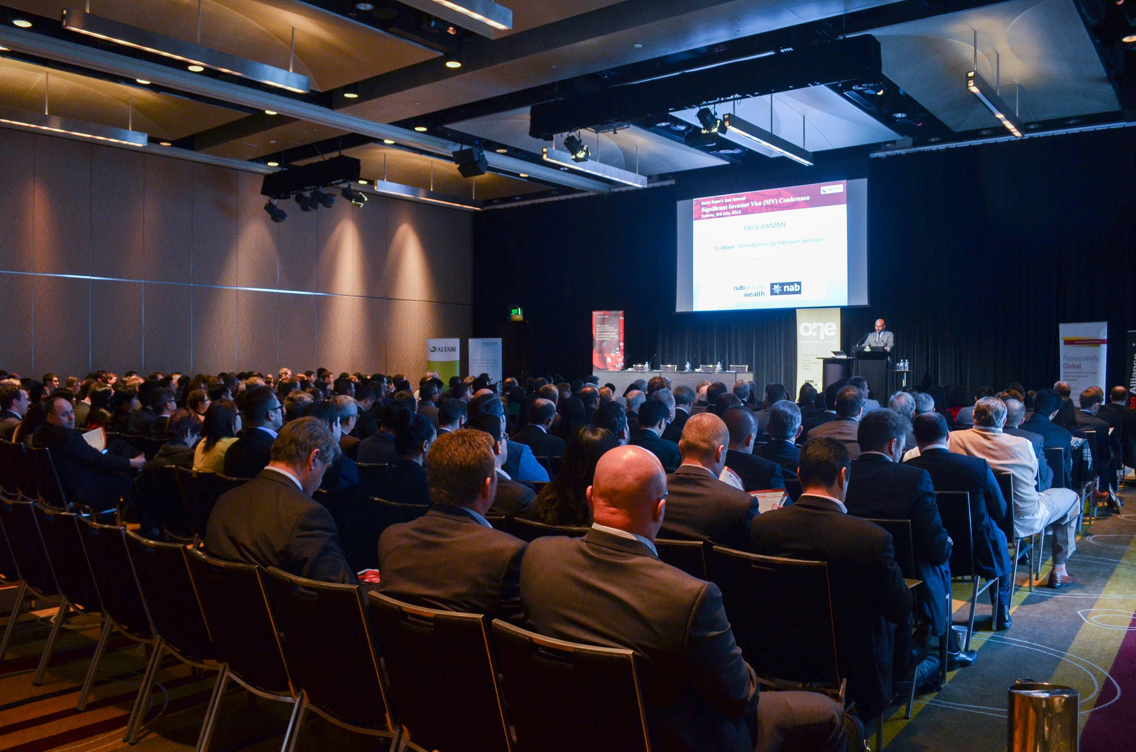 Events basis point for 181 st georges terrace perth