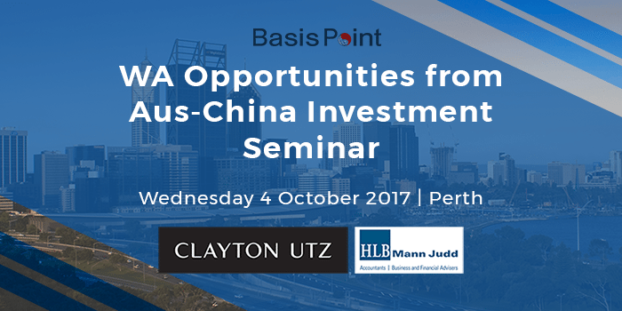 West Australia Opportunities Seminar